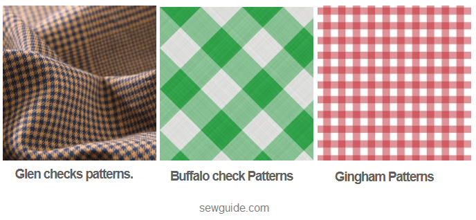 recognize the fabric patterns