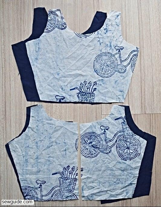 sew a sleeveless bodice