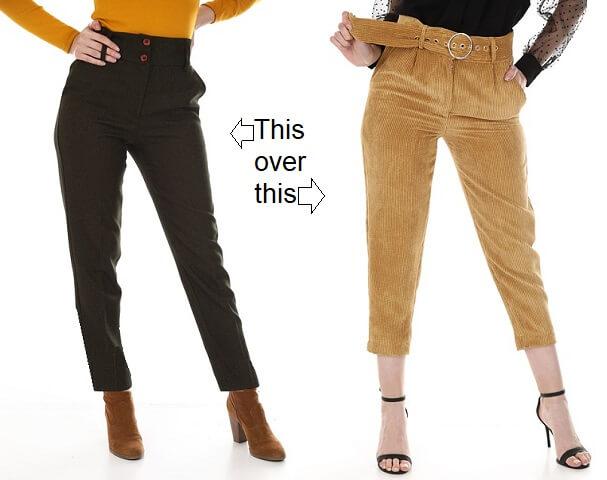 dress choice for short legs