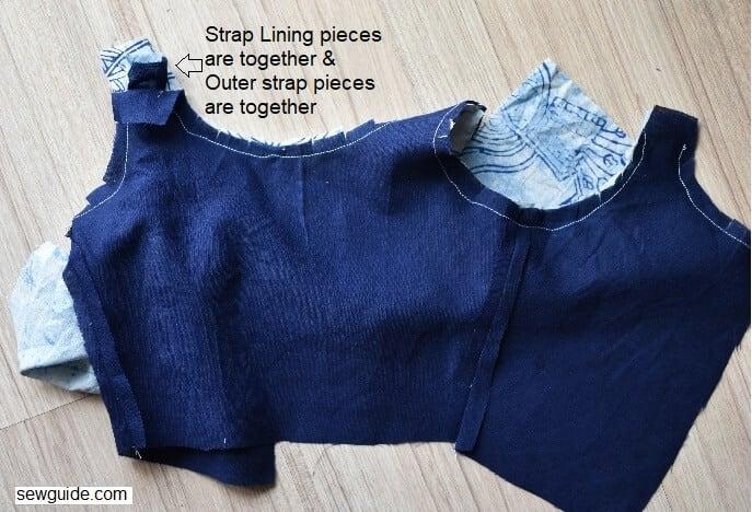 sleeveless bodice sewing tutorial