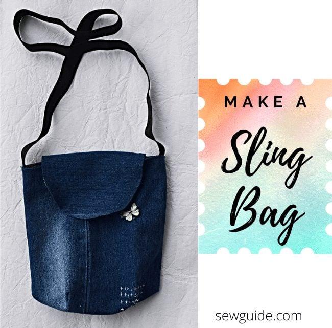 make sling bag