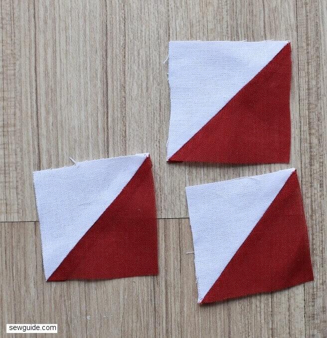 stitch half triangles squares