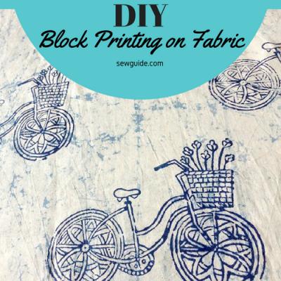 block printing diy