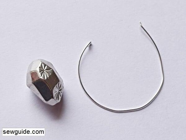make hoop earrings