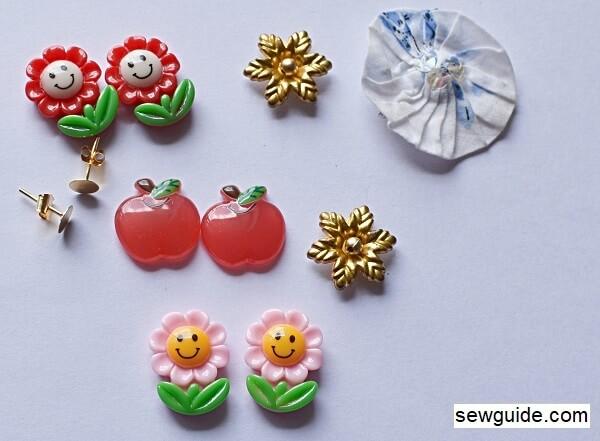 how to make DIY easy earrings
