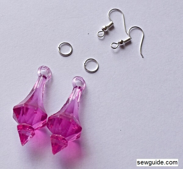 easy to make earrings - tutorial