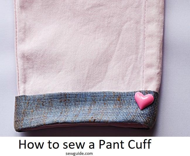 pant cuff -sewing