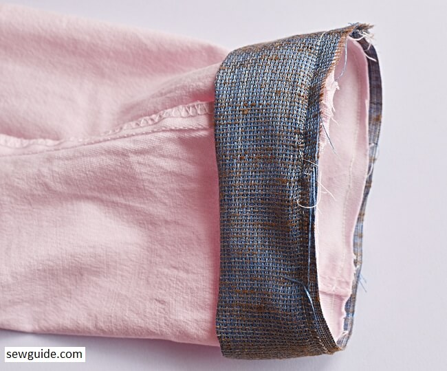 how to sew a pant cuff