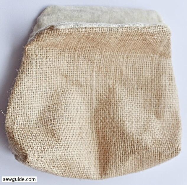 sew a metal frame -purse