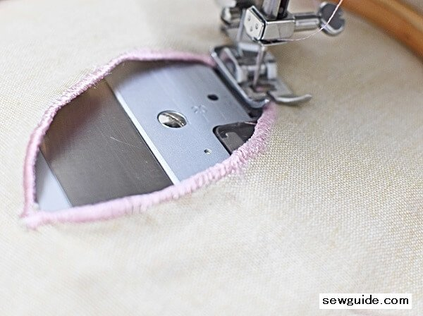 do cutwork embroidery using a sewing machine