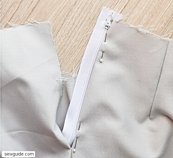 sewing a waistband for skirts