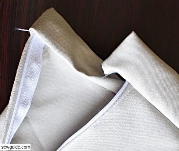 sewing a skirt waistband properly