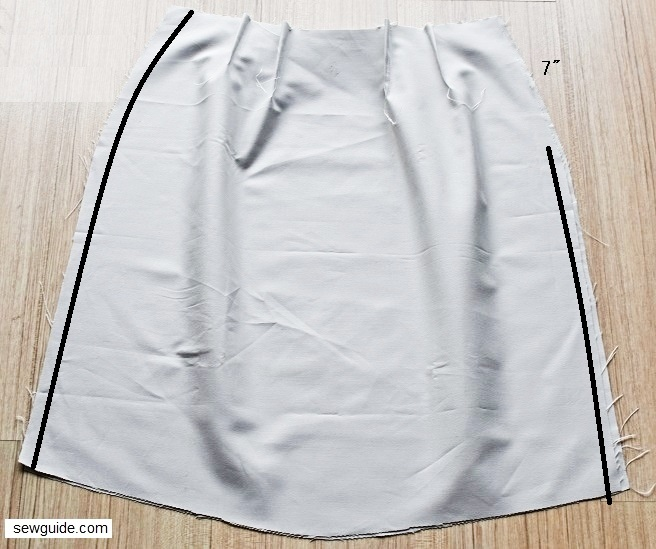 sew a waistband for skirts