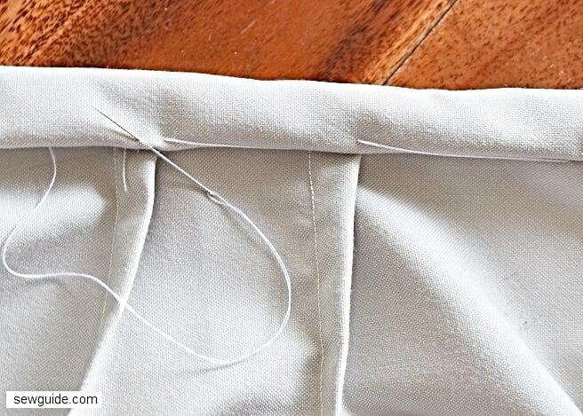 skirt waistband sewing tutorial