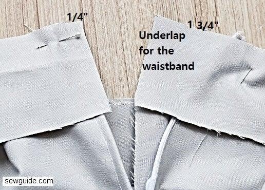 waistband sewing tutorial