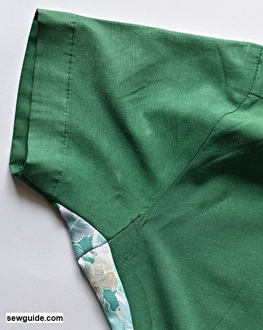 add gussets to tight shirt.6