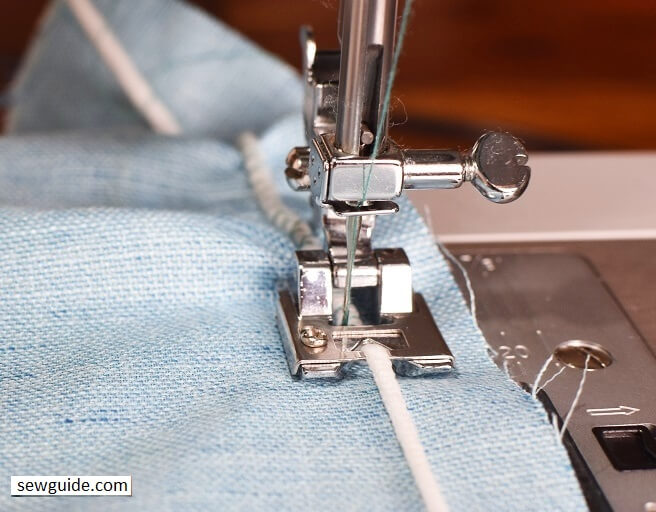 braiding foot for your sewing machine