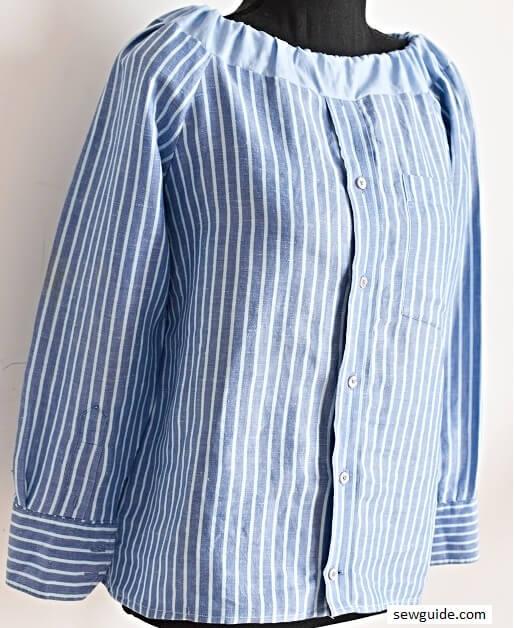 diy shirt to top