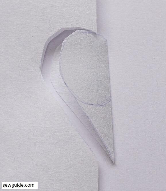 heart applique block