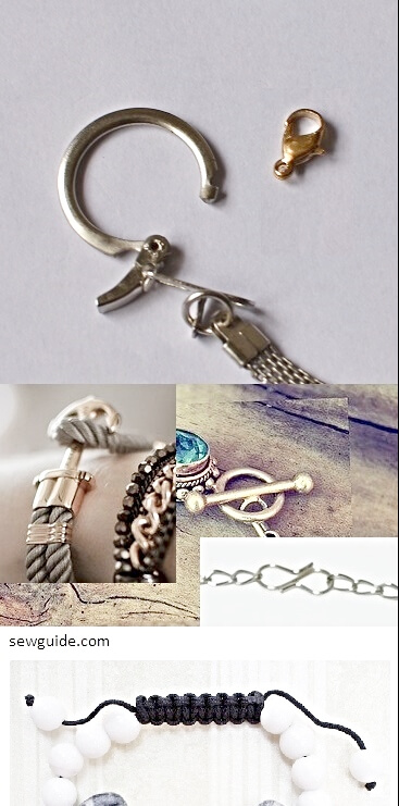 fasteners for a bracelet