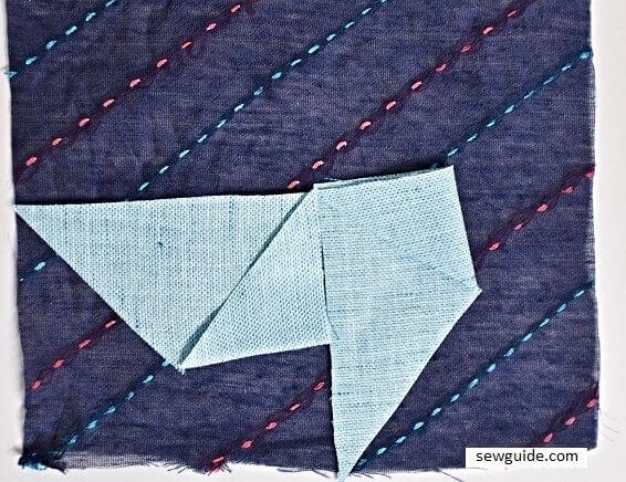 pinwheel patchwork block