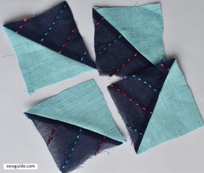 pinwheel block for quilting