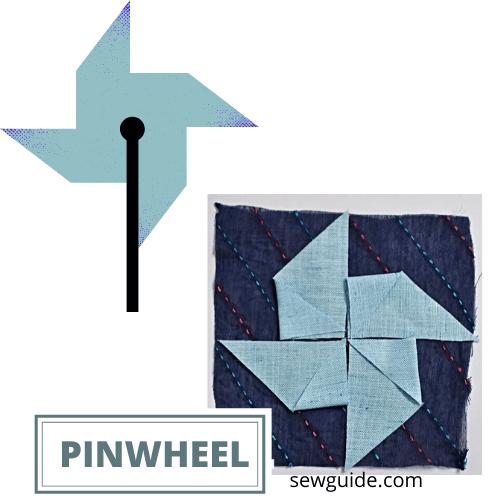 how to sew a pinwheel block