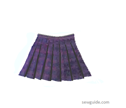 pleated skirt types