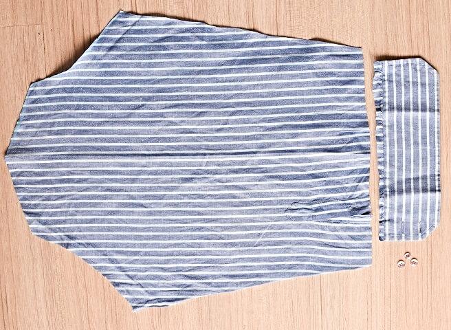 make a shirt top - sewing tutorial