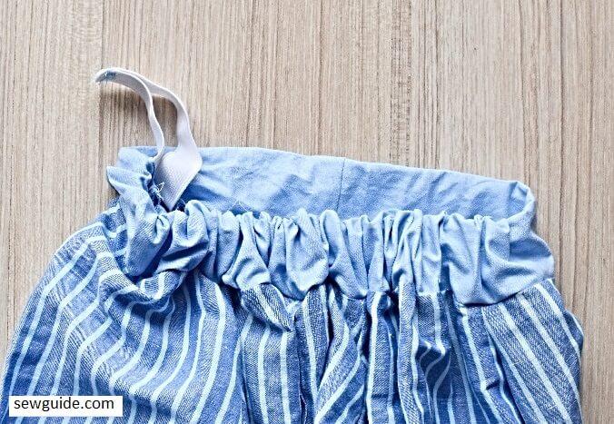 make a top from mens shirt