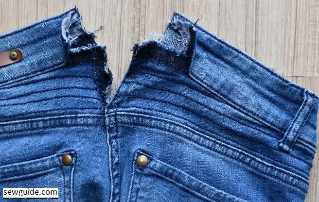 how to alter tight pants or jeans