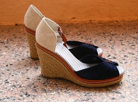 name of footwear for women