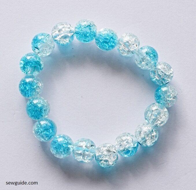 bead bracelet DIY