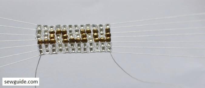 super easy designs for beaded tape
