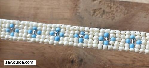 beaded tape for bracelets