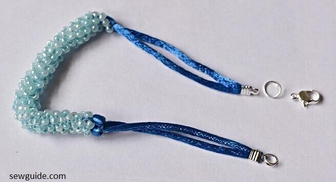 how to make beaded bracelet