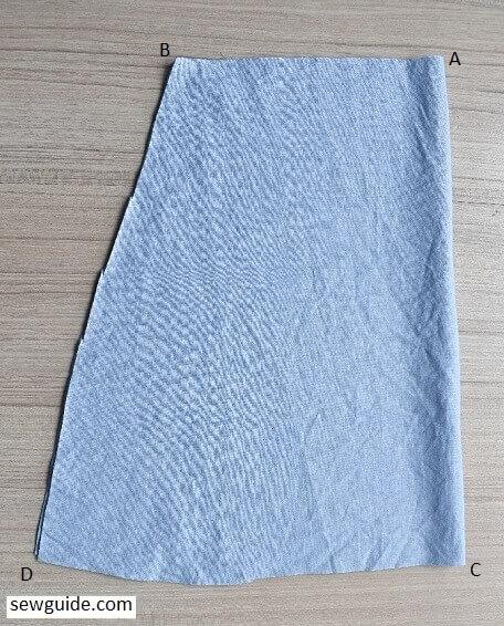 sew tennis skirt