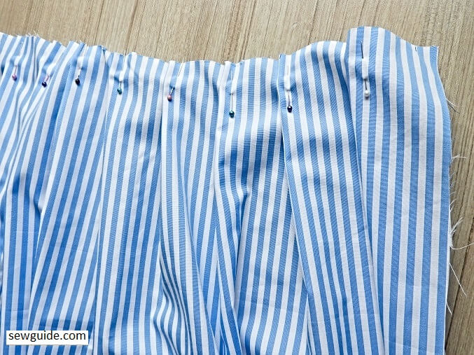 Sewing tutorial for tennis skirt