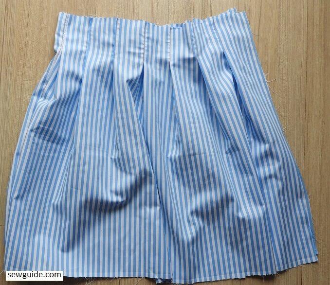 tennis skirt sewing tutorial 2