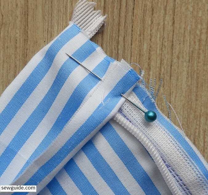 make a tennis skirt with pleats