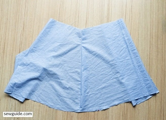 sew a tennis skirt -simple sewing pattern