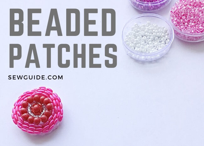 beaded patches diy tutorial