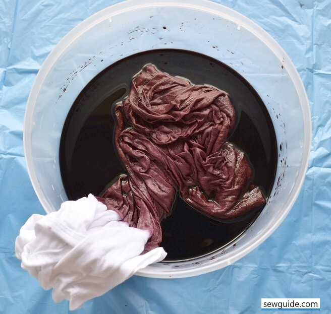 dip-dyeing process for ombre fading