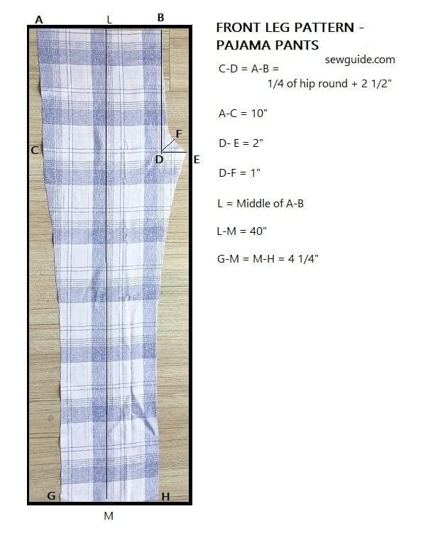 How to sew mens pajama pants