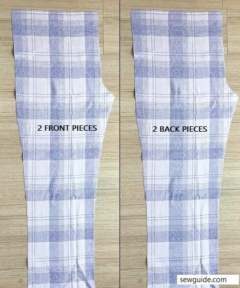 sewing-a-mens pajama-pant