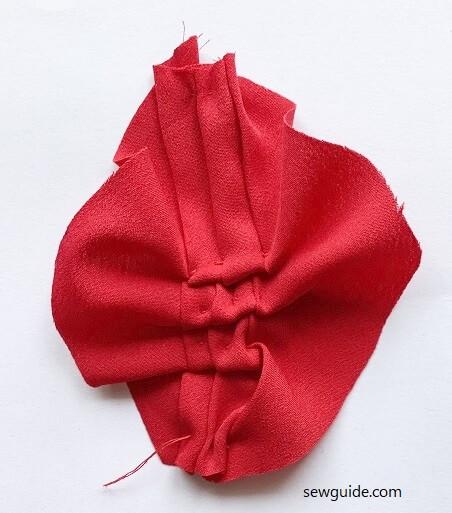 rosettes DIY sewing