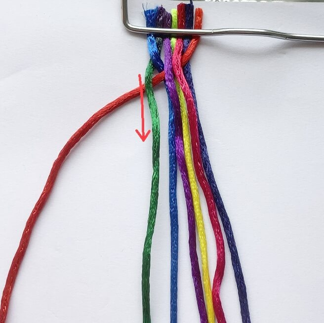 making 7strand braids- tutorial
