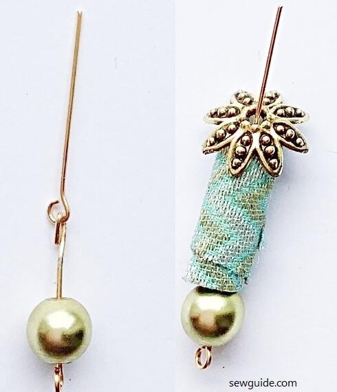 DIY fabric bead