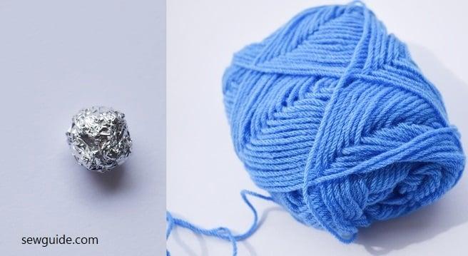 fabric bead making