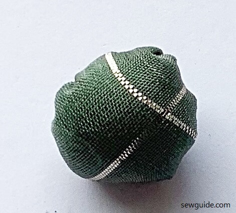 make easy fabric beads